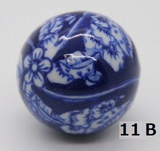 "Ukidama ""Japan Blue"" piccola N° 11 B - diametro 3 cm"