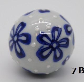 "Ukidama ""Japan Blue"" piccola N° 7 B - diametro 3 cm"