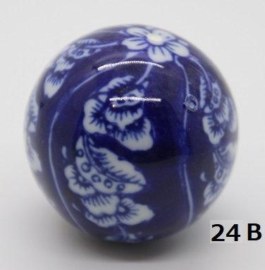 "Ukidama ""Japan Blue"" media N° 24 B - diametro 4 cm"