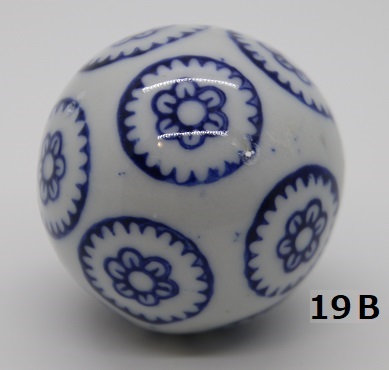 "Ukidama ""Japan Blue"" media N° 19 B - diametro 4 cm"