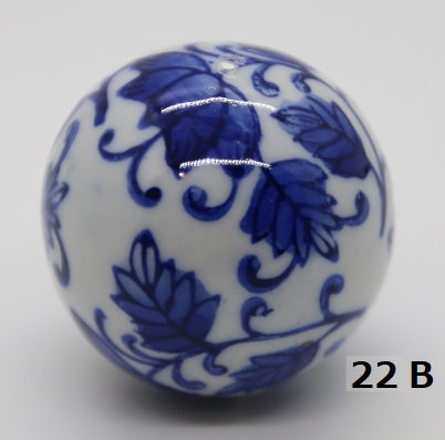 "Ukidama ""Japan Blue"" media N° 22 B - diametro 4 cm"