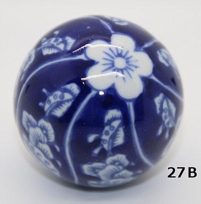 "Ukidama ""Japan Blue"" grande N° 27 B - diametro 5,5 cm"