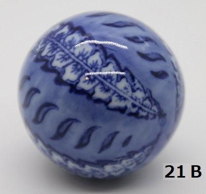 "Ukidama ""Japan Blue"" media N° 21 B - diametro 4 cm"