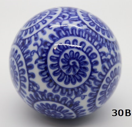 "Ukidama ""Japan Blue"" grande N° 30 B - diametro 5,5 cm"