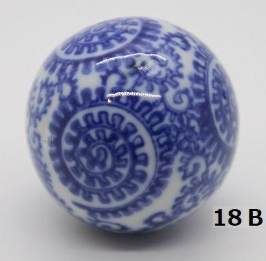 "Ukidama ""Japan Blue"" media N° 18 B - diametro 4 cm"