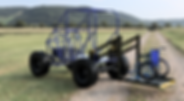 Offroad single seater UTV for wheelchair, walker users can enjoy the outdoors in the single seater UTV that comes standard with lift for easy access and low cost.