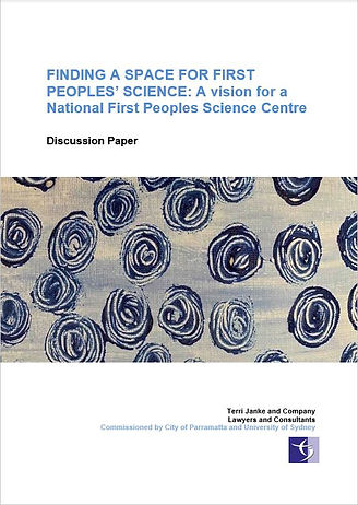 First Peoples Science Centre_front cover