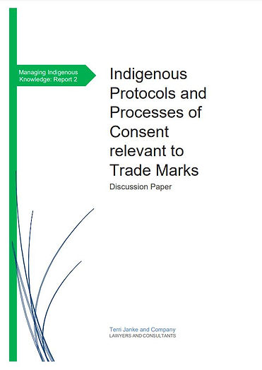 Indigenous protocols and processes of co