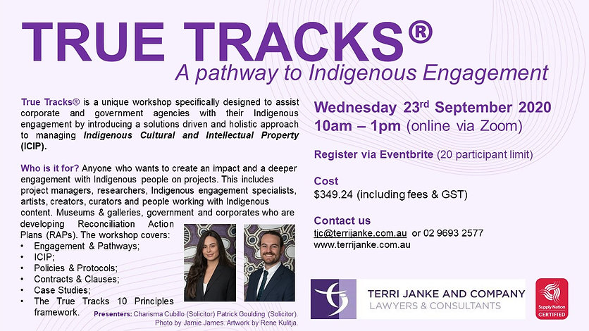 TrueTracks_Social Media Flyer_September