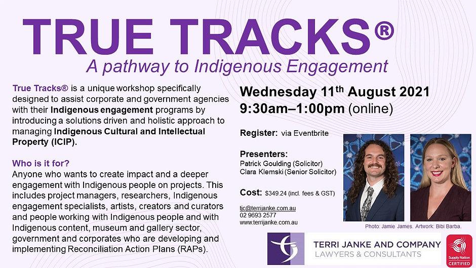 True Tracks_Social Media Flyer_August 20