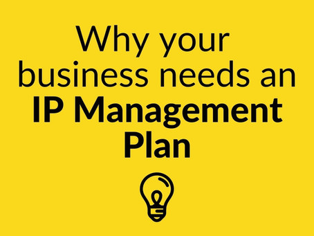 Why your business needs an IP Management Plan