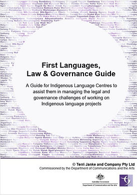 First Languages Law & Governance Guide f