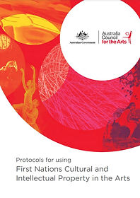 Protocols for using First Nations cover