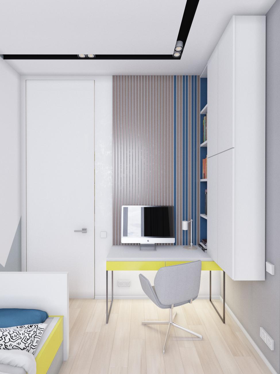 Дизайн интерьера деткой комнаты