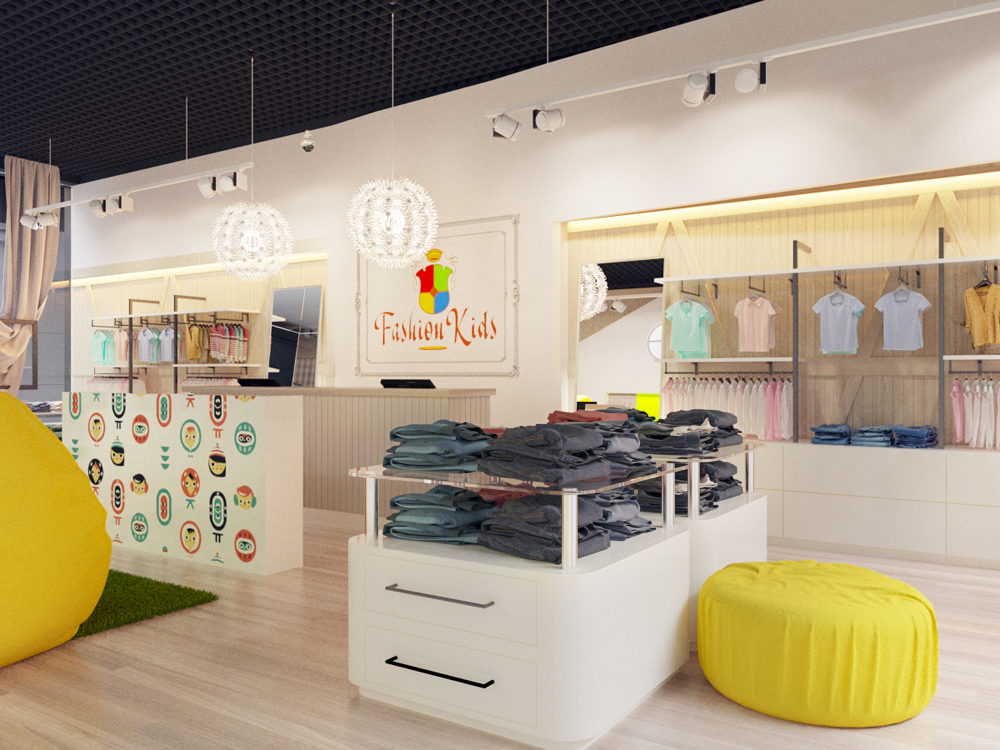 Магазин детской одежды в ТРК Кольцгазин детской одежды
