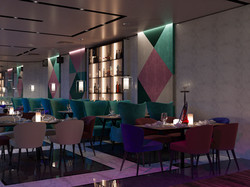 ресторан. Студия дизайна Domos