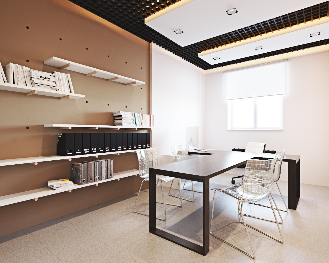 Дизайн офиса на ул.Заслонова