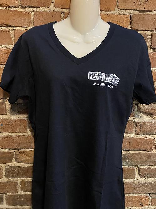 Womens Benders T-Shirt   Black
