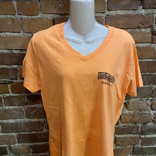 Womens Benders T-Shirt | Orange