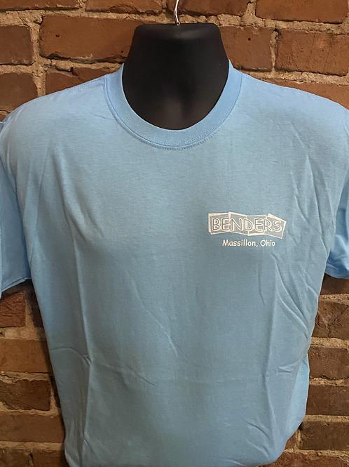 Mens Benders T-Shirt | Blue