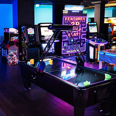 Air Hockey Pacman Space invaders and street fighters are just some of the games at High Score Newbury