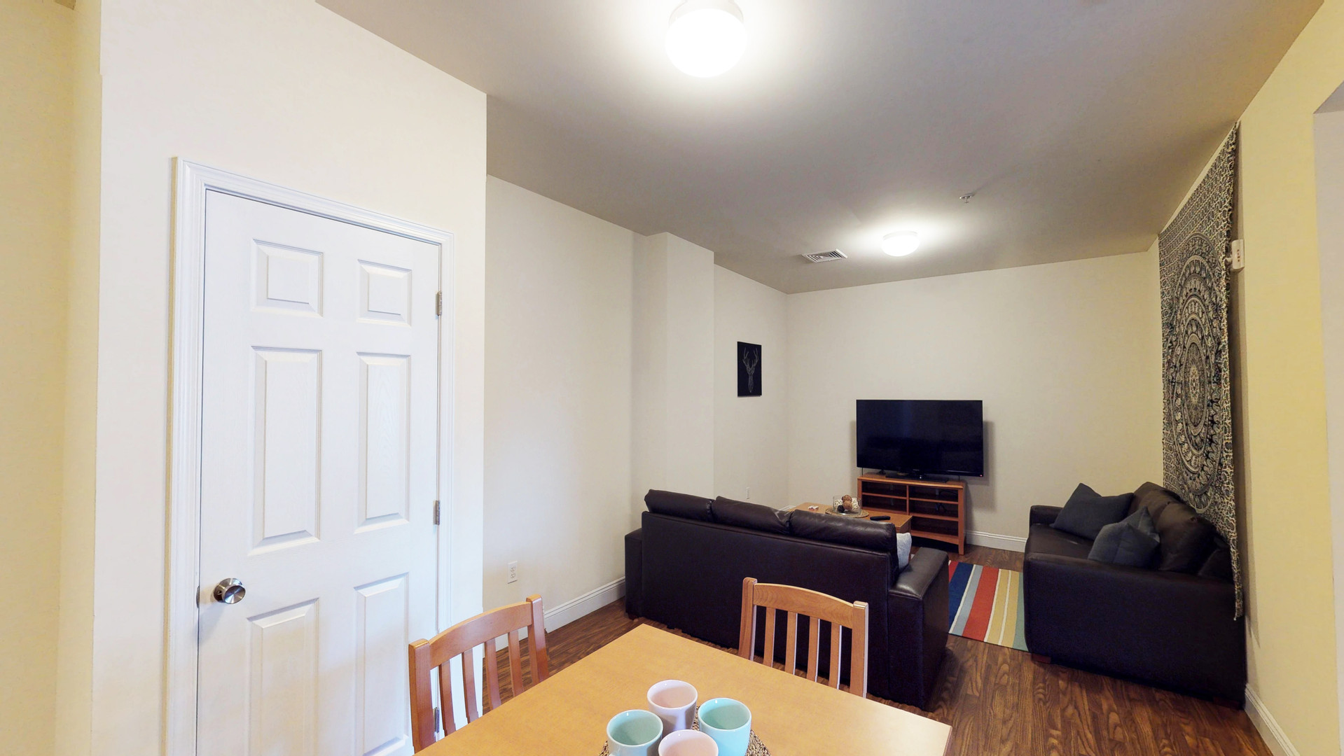 Schoolhouse Lofts Dining and Living Rooms
