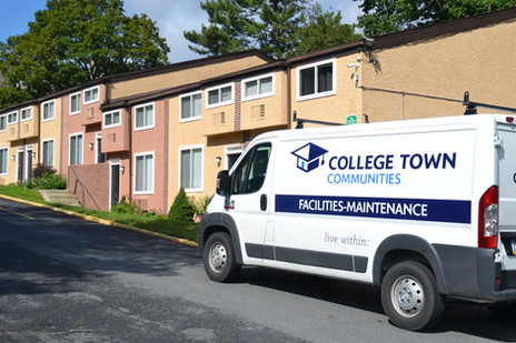 Building with Maintenance Van.JPG