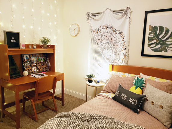 Full-Sized Beds in Every Bedroom