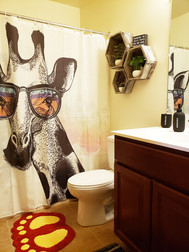 All of our student housing units come with at least two full sized bathrooms!