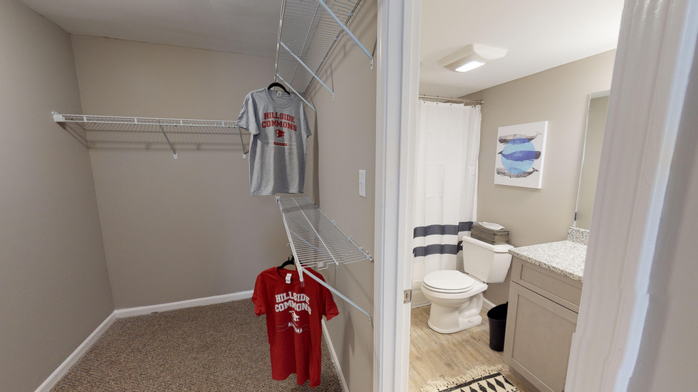 Closets Included in Every Bedroom