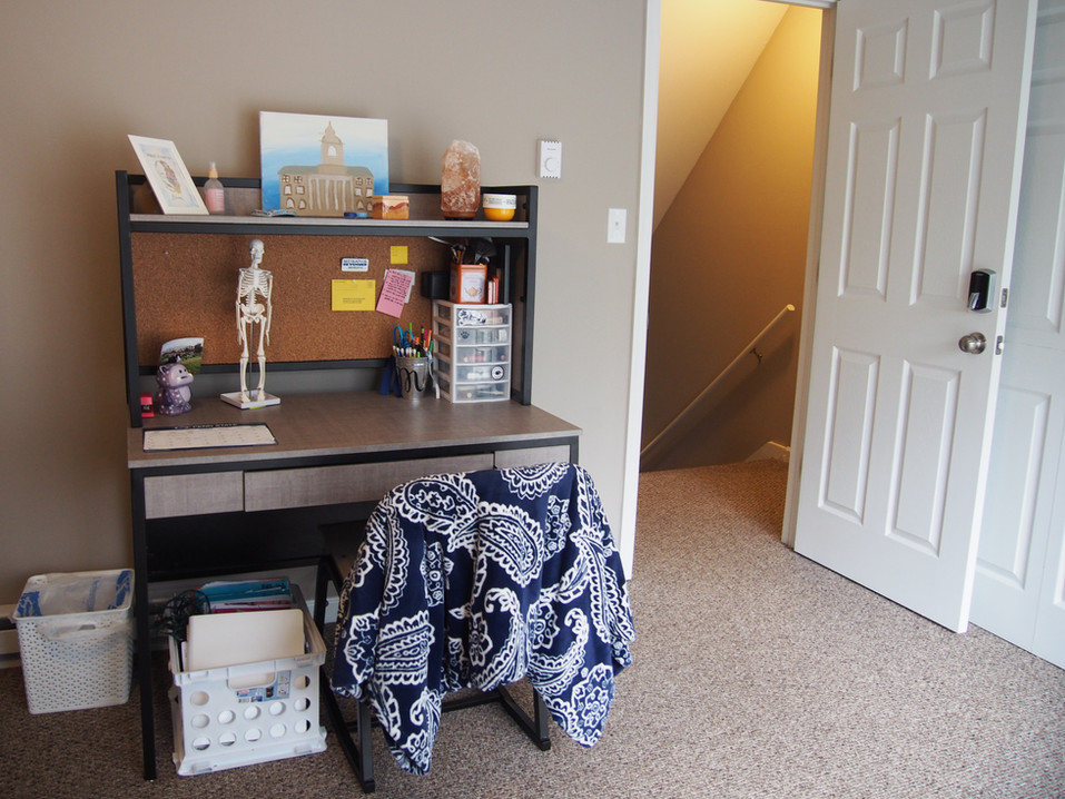 Desks Available in Most Bedrooms
