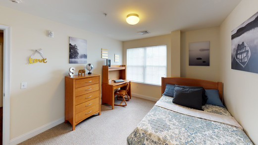 Fiver Drawer Dresser, Desk and Desk Chair in Every Bedroom