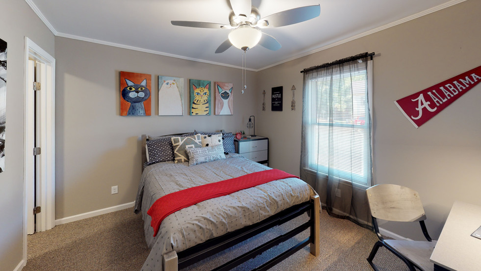 Multiple Bedroom Options