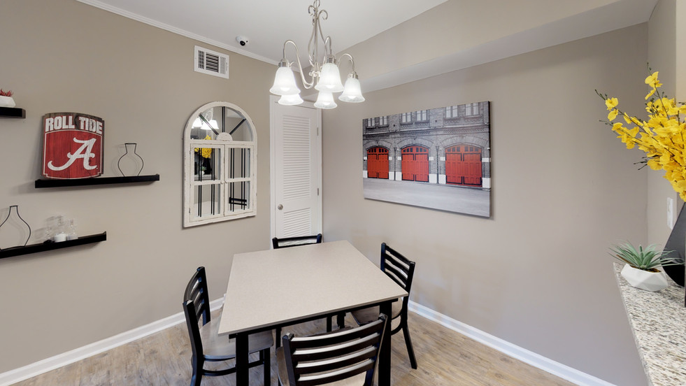 Fully Furnished Dining Room
