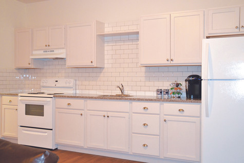 Custom Kitchens with Full-sized Appliances