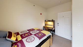 Private Bedrooms with Study Space