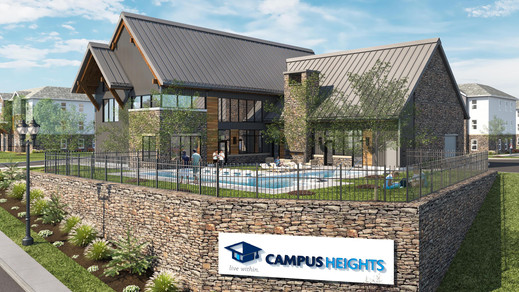 Access to Campus Heights Clubhouse and Pool