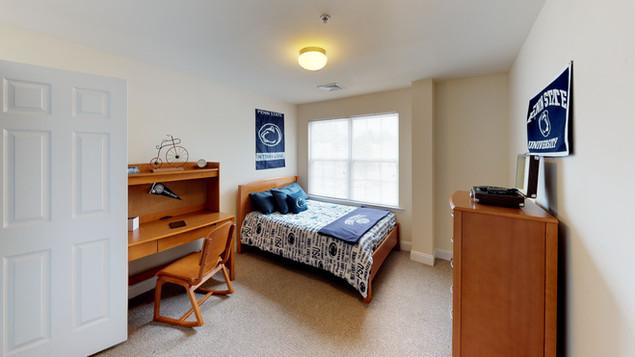 Schoolhouse Lofts Private Bedroom