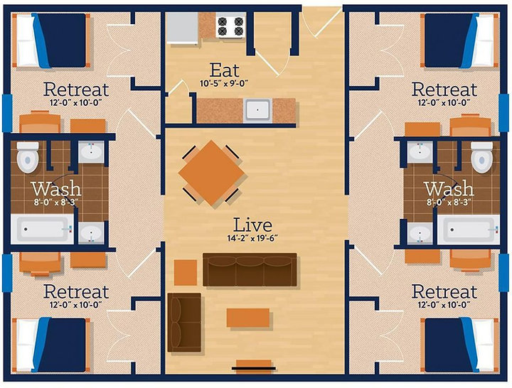 Campus Heights Suite Style Apartment