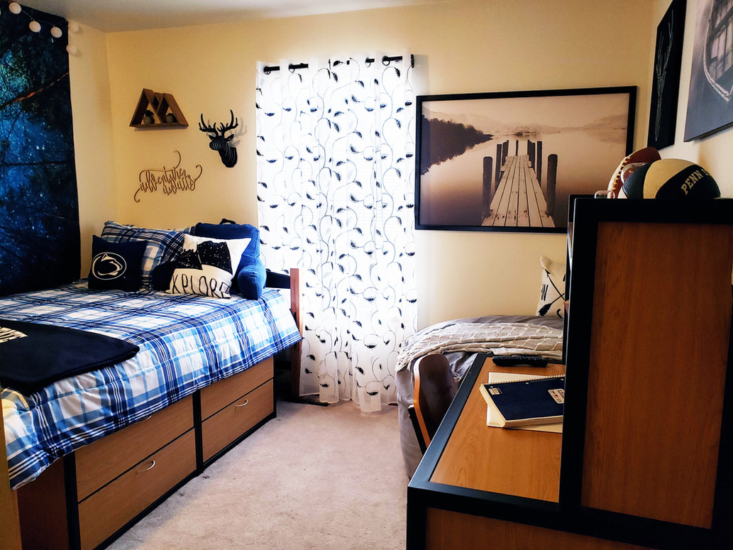 Fully Furnished Den Style Bedrooms