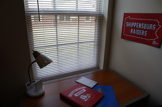 Need a quiet place to study? Each bedroom at Madison and Brookside is private with a key code lock.