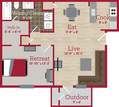 Hillside Commons One Bedroom.png