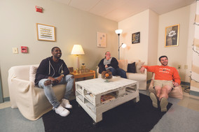 Fully furnished apartments give you ample room to relax with your friends and roommates!