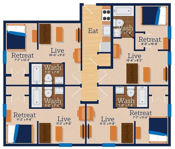 Rooftop Lofts Floor Plan