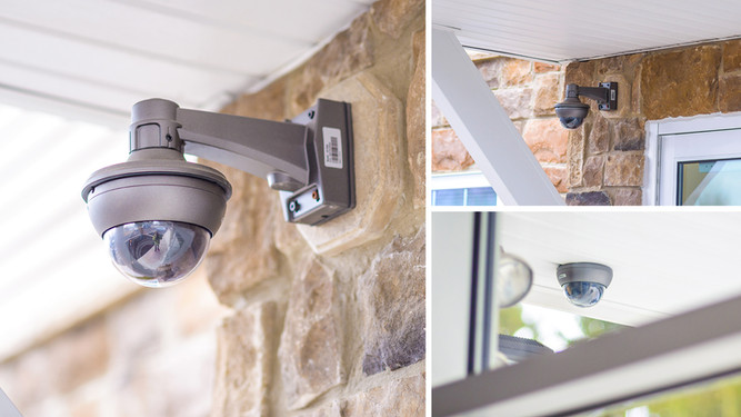 Monitored Security Cameras BOTH Inside and Outside College Station