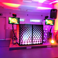 our pub disco setup