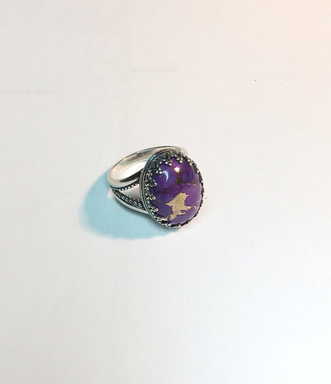 Cabber Ring Lg - Premium stones