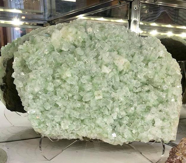 Green Apophyllite Plate
