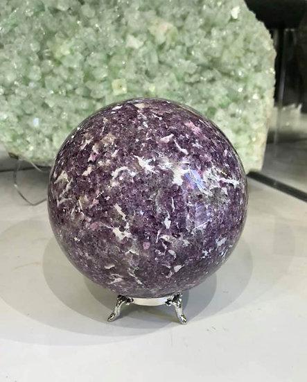 ME Lepidolite Sphere