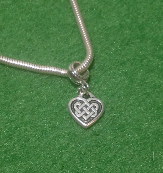 Celtic Heart Charm